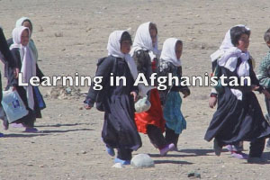LEARNING IN AFGHANISTAN